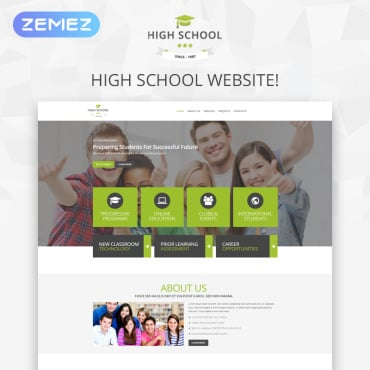 Education Responsive WordPress Theme