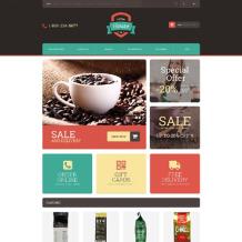 Coffee Shop Responsive OpenCart Template