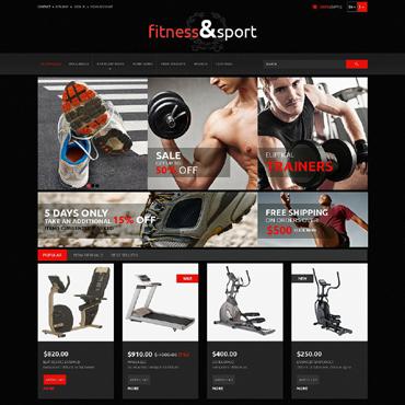 Fitness Responsive PrestaShop Theme