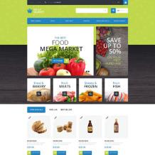 Food Store Responsive PrestaShop Theme