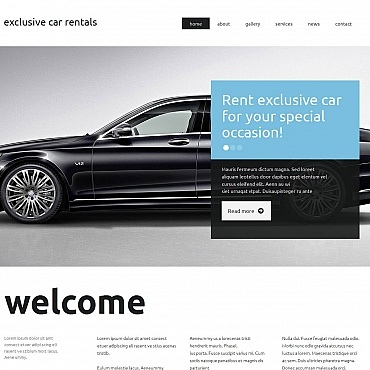 Car Rental Moto CMS HTML Template