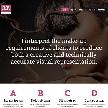 Beauty School Moto CMS HTML Template