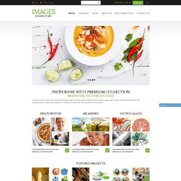 Stock Photo Responsive Shopify Theme