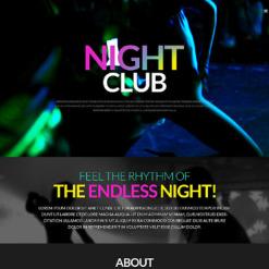 Night Club Responsive WordPress Theme