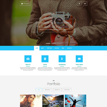 Professional Photography Joomla Template #52026