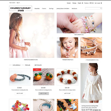 Jewelry Responsive PrestaShop Theme