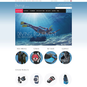 Diving ZenCart Template