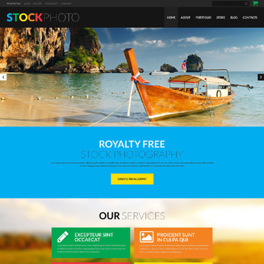 Photo and Video WooCommerce Theme #52166