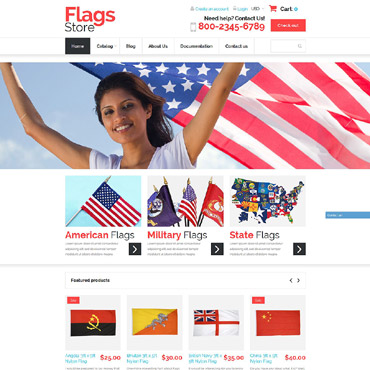 Politics Responsive Shopify Theme