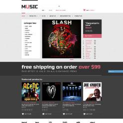 Music Store Responsive Shopify Theme
