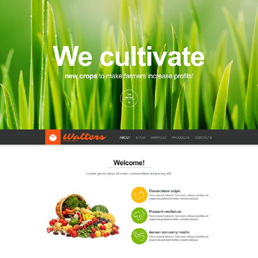 Agriculture Muse Template