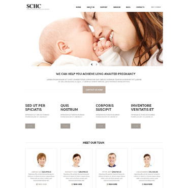 Medical Responsive Joomla Template #52318