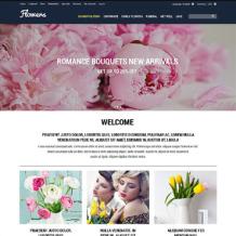 Flower Shop OsCommerce Template