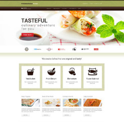 Asian Restaurant Responsive WordPress Theme