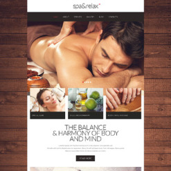 Beauty Salon Responsive Website Template