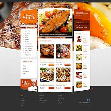 Food Store ZenCart Template