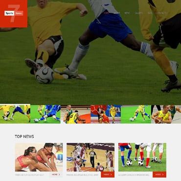 Sports News WordPress Theme