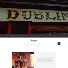 Pub Responsive Website Template