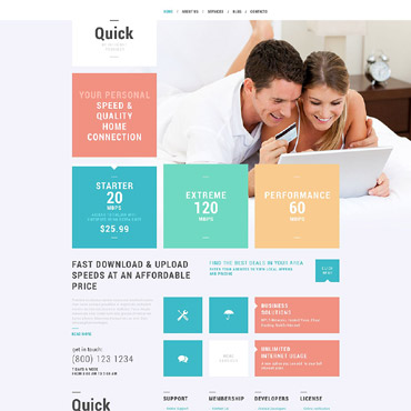 ISP Responsive WordPress Theme