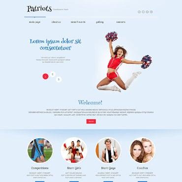 Cheerleading Responsive WordPress Theme