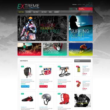Extreme Sports Responsive Magento Theme