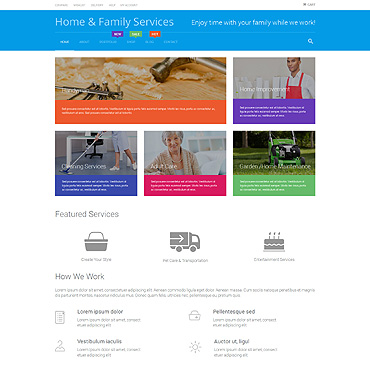 Maintenance Services Responsive WooCommerce Theme