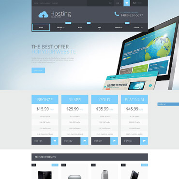 Hosting Responsive Shopify Theme