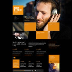 Personal Page Responsive Joomla Template