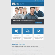 Web Design Responsive Newsletter Template
