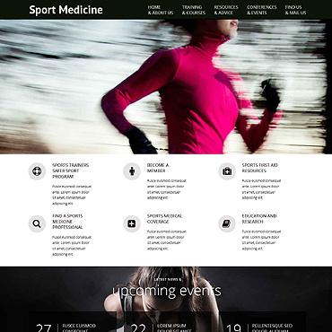 Sport Responsive Website Template