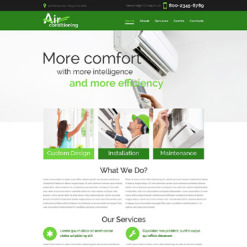 Air Conditioning Responsive Website Template
