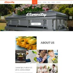 Funeral Services Responsive Joomla Template
