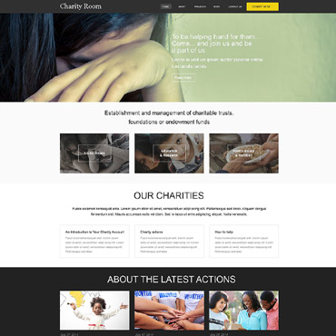 Child Charity Muse Template