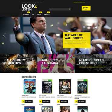 Video Lab Responsive Magento Theme