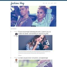 Fashion Blog Responsive Drupal Template