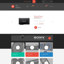 Car Audio Responsive Shopify Theme