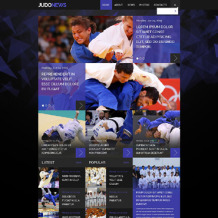 Martial Arts Responsive Website Template