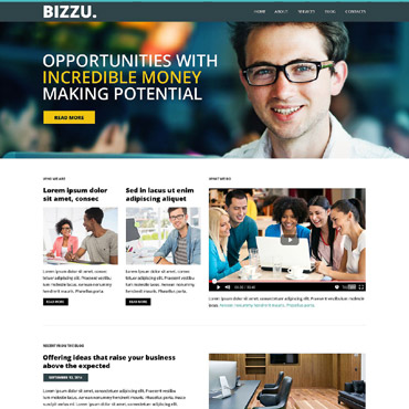 Business Bureau WordPress Theme #53014