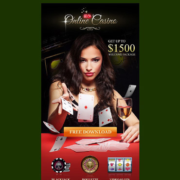 Online Casino Responsive Newsletter Template