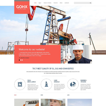 Solutions for Industrial Business Website Template #53042