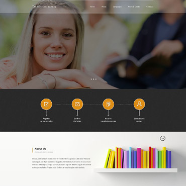 Translation Bureau Responsive Website Template