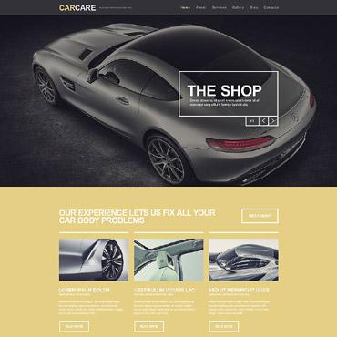 Car Repair Responsive WordPress Theme