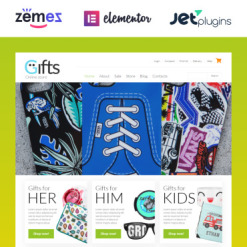 Responsives WooCommerce Theme für Geschenkeshop