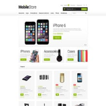 Mobile Store Responsive OpenCart Template