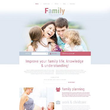 Family Responsive Joomla Template