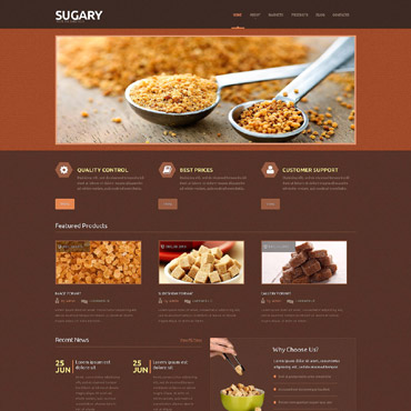 Food Store WordPress Theme