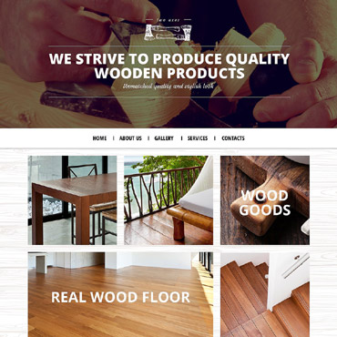 Crafts Responsive Website Template #53442