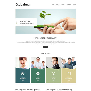 Business Agency Joomla Template #53454