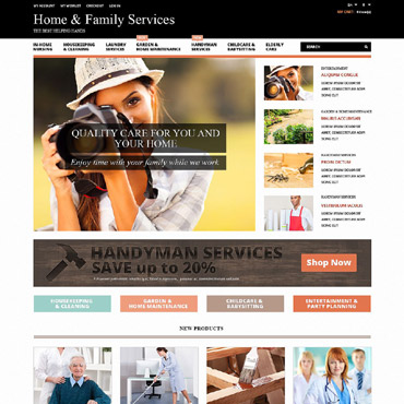 Maintenance Services Responsive Magento Theme