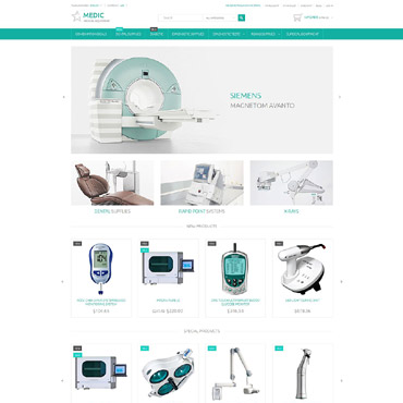 Medical Equipment Responsive Magento Theme